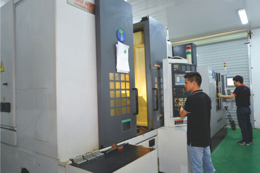 High speed CNC center